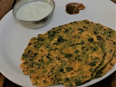 Methi ka Paratha Banna ki Veedhi
