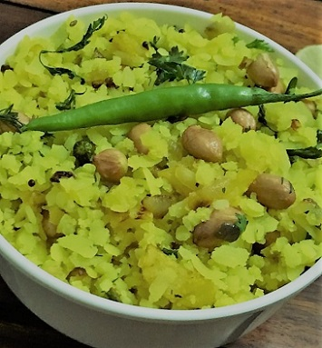 Poha | Avalakki | Flattened Rice Flakes | Vegan