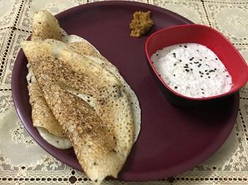 Rava dosa – South Indian Breakfast | Foodopium