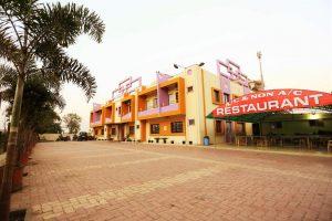 Somnath Sagar Hotel Front View