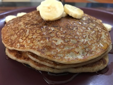 Vegan Soya Banana Pancakes
