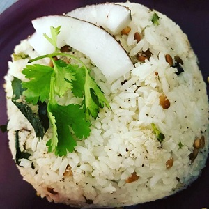 Coconut Rice/South Indian Coconut Rice