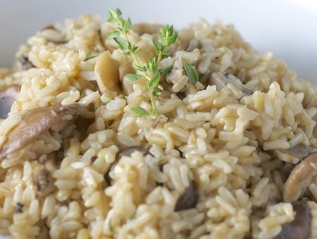 Mushroom Single Pot Rice