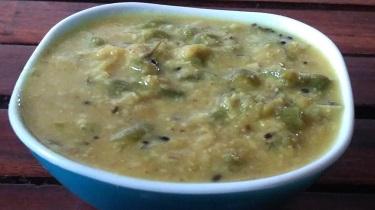 Beans Coconut Kurma | Food Opium