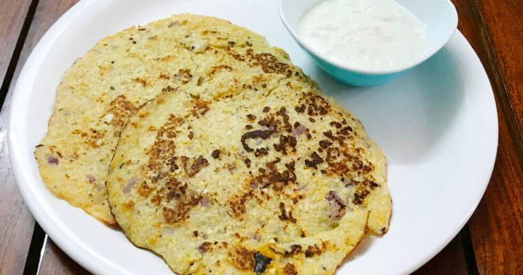 Candipapu/Tuvar Dal Dosa Recipe