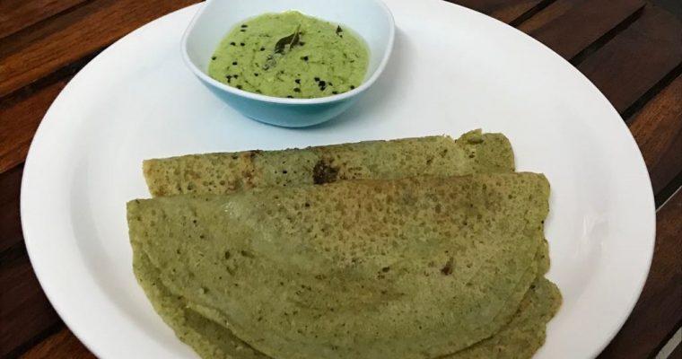 Pesarattu/Moong Dal Dosa