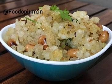 Sabudana Khichadi Recipe , Sago Khichadi Recipe