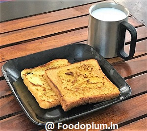 Veg French Toast Recipe