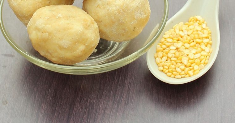 Moong dal Laddu/Laddoo Recipe