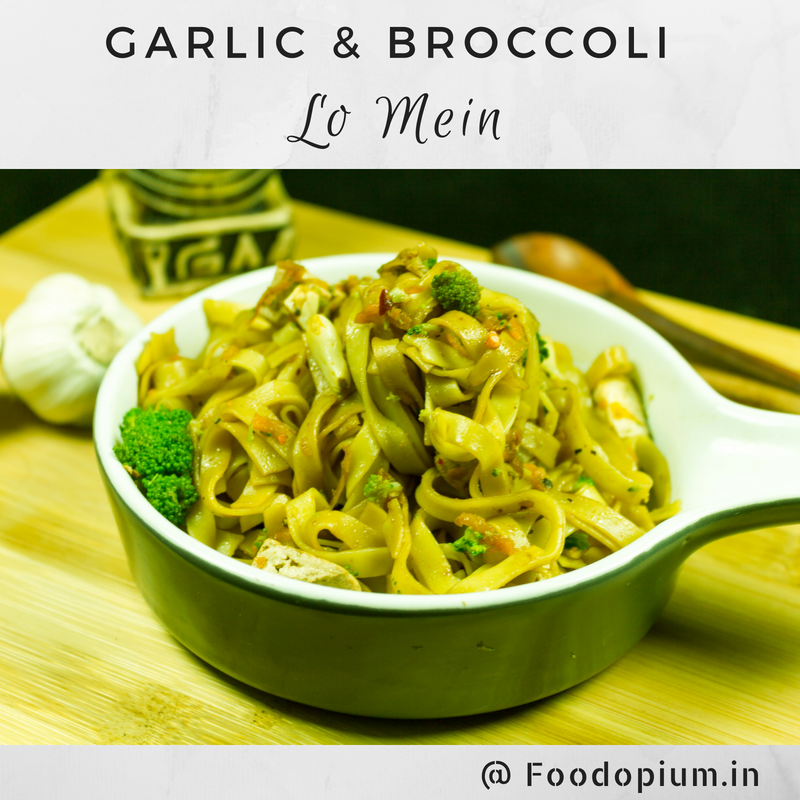 Garlic & Broccoli Lo Mein
