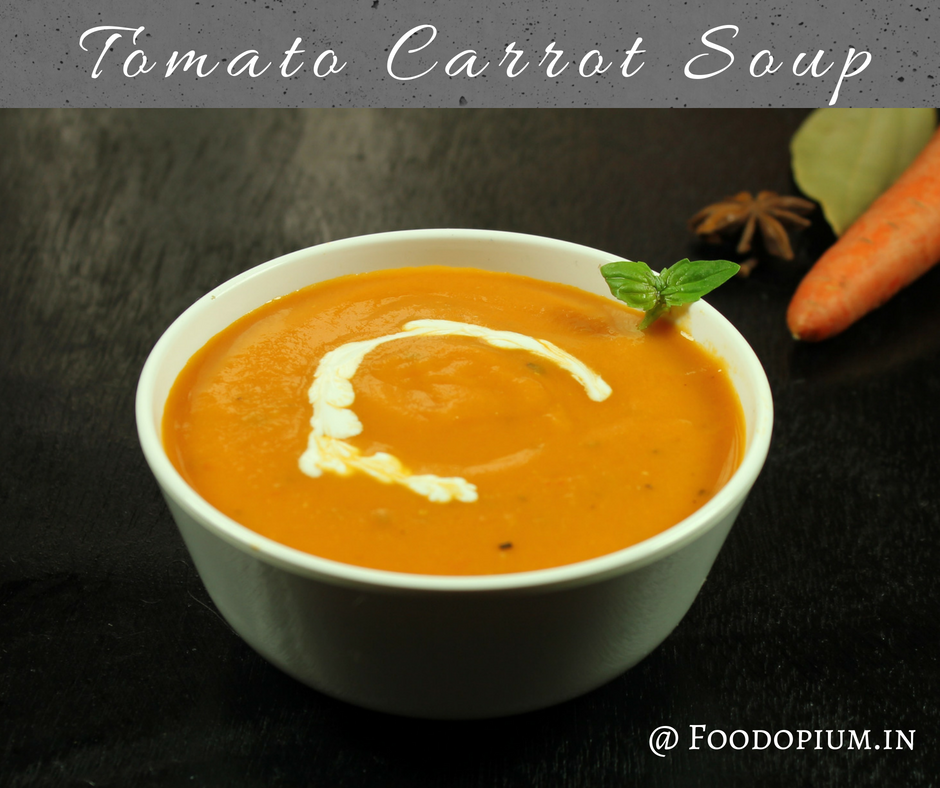 Tomato Carrot Soup Recipe