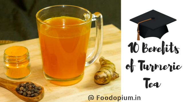 10 Benefits of Turmeric Tea