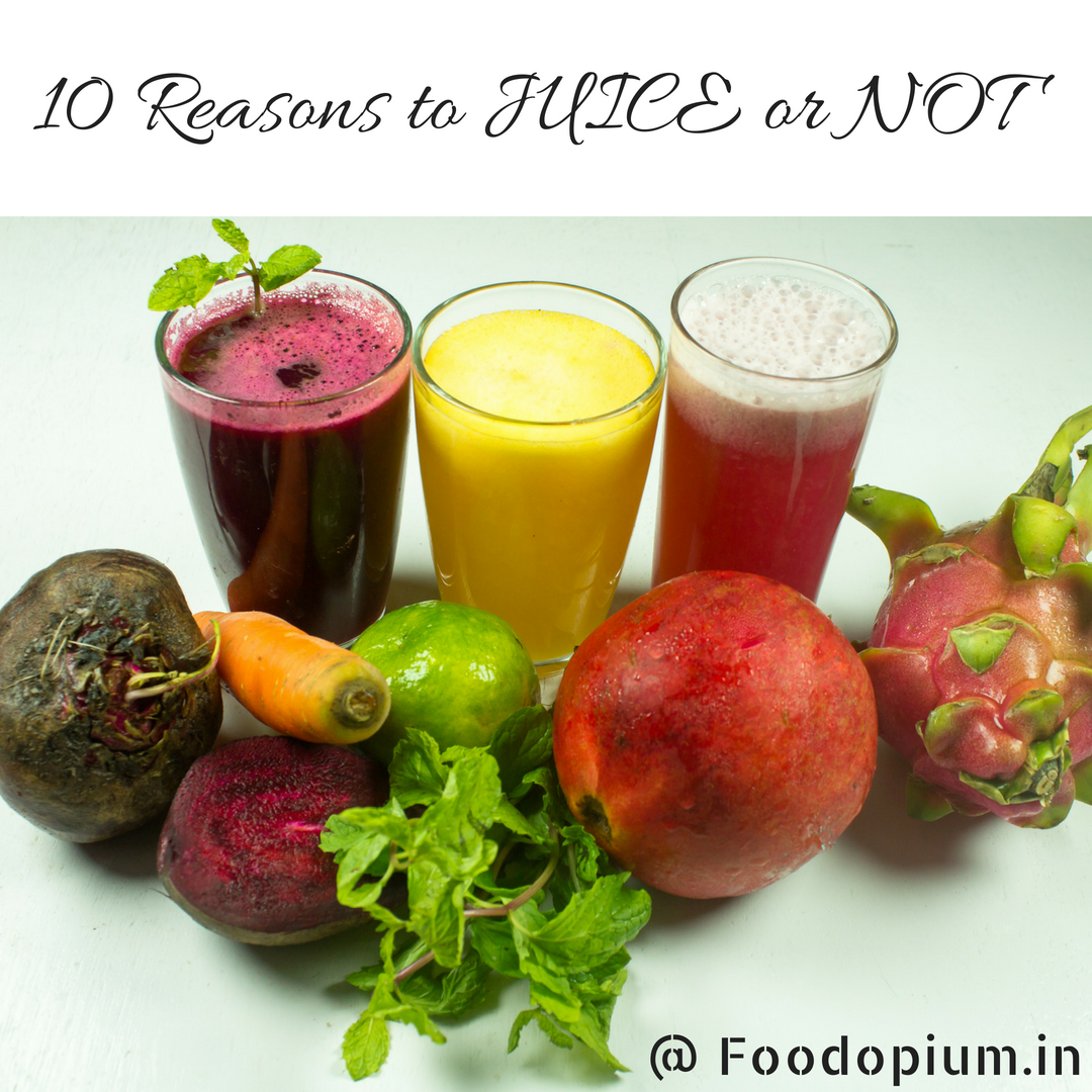 10 Reasons to JUICE or NOT