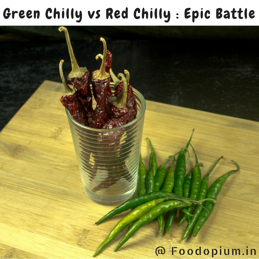 Green Chilly vs Red Chilly : Epic Battle