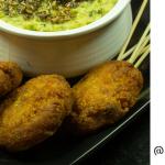 Semolina Chickpea Flour Cutlets/Kebabs