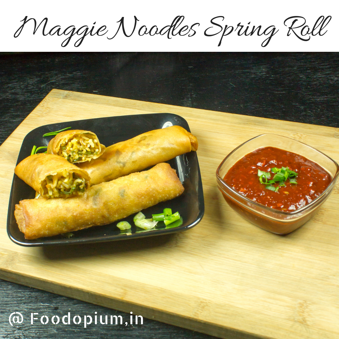 Maggi Noodles Spring Roll Recipe