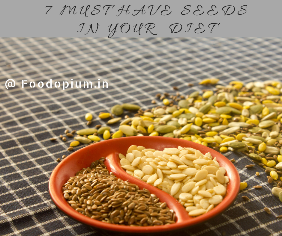 7 MUST HAVE SEEDS In Your DIET