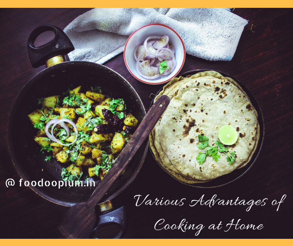 Various Advantages of Cooking at Home