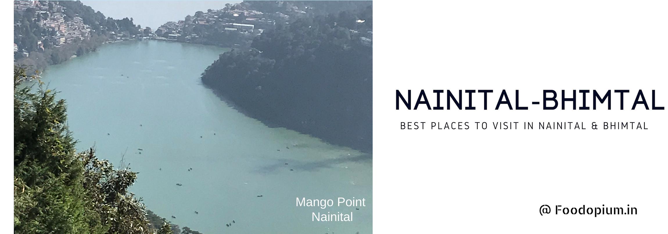 Nainital-Bhimtal Banner