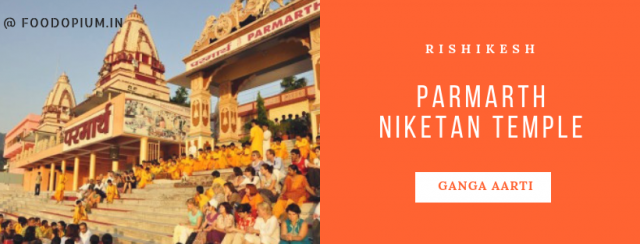 4. Parmarth Niketan Temple