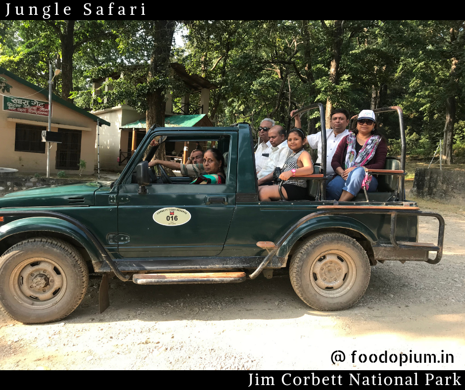 Jeep Safari Corbett Tiger Reserve