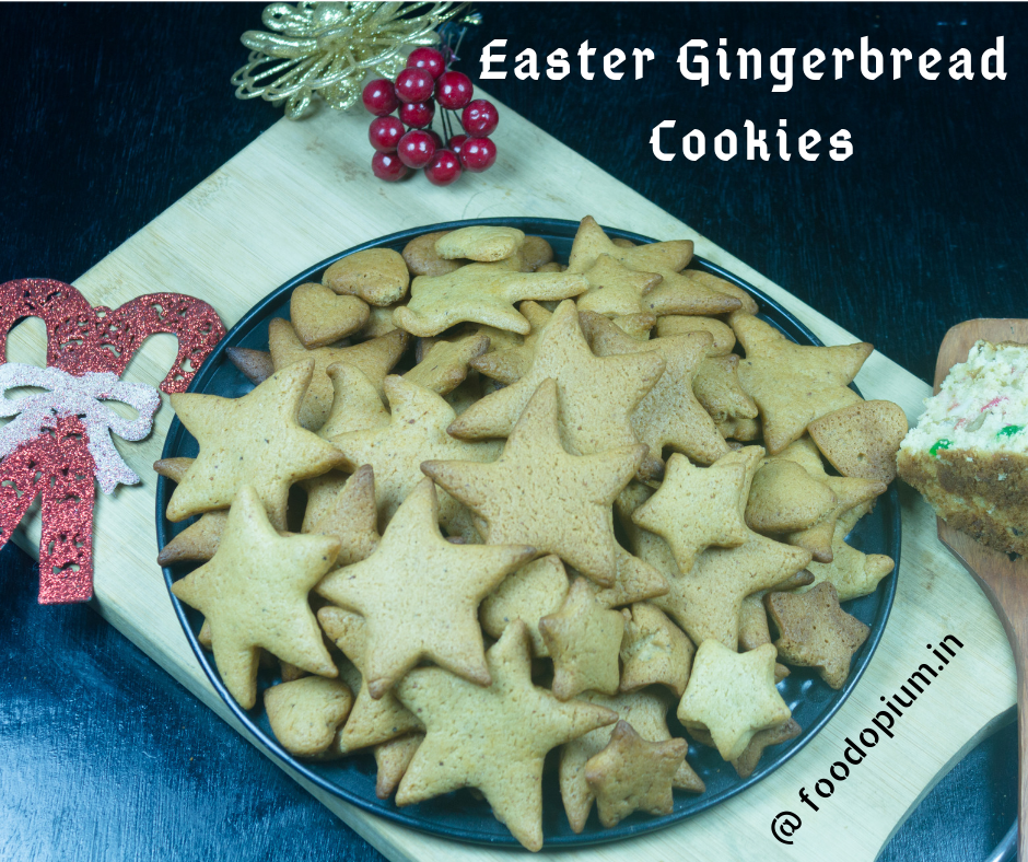 Easter Gingerbread Cookies Recipe