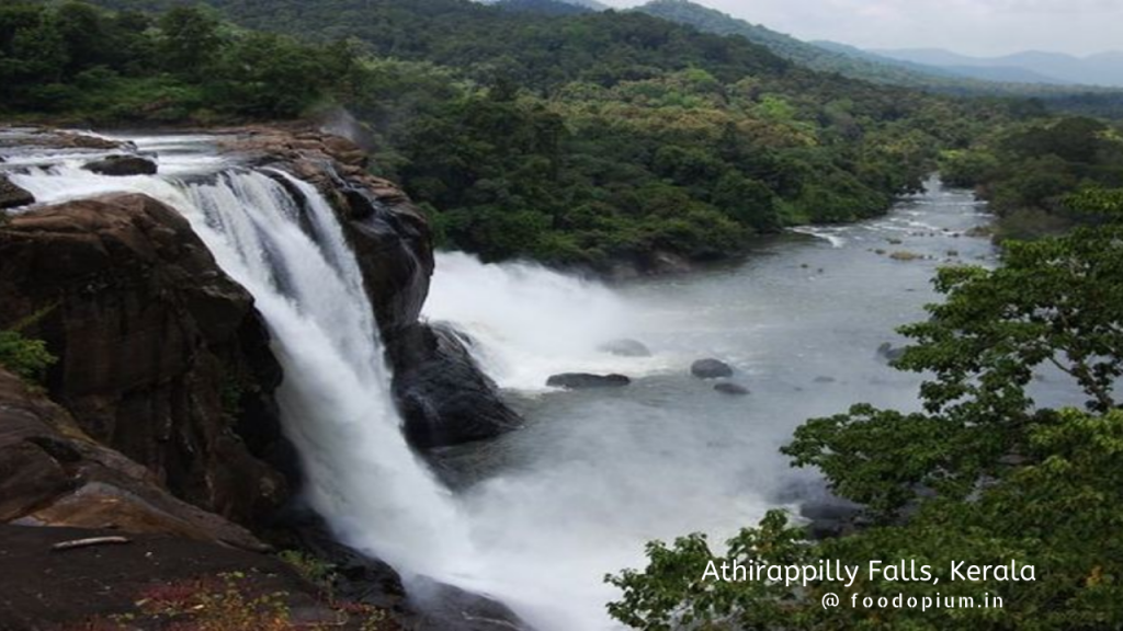 8. Athirappilly Falls, Kerala
