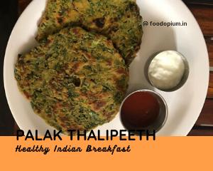 Palak Thalipeeth