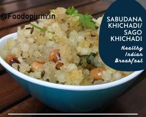 Sabudana Khichadi Sago Khichadi