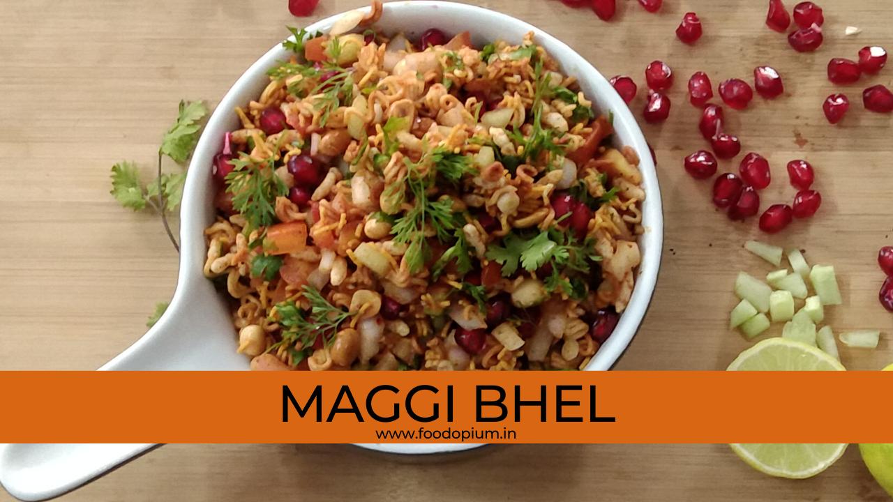 Maggi Bhel | Maggi Bhel Recipe | How to make Maggi Bhel