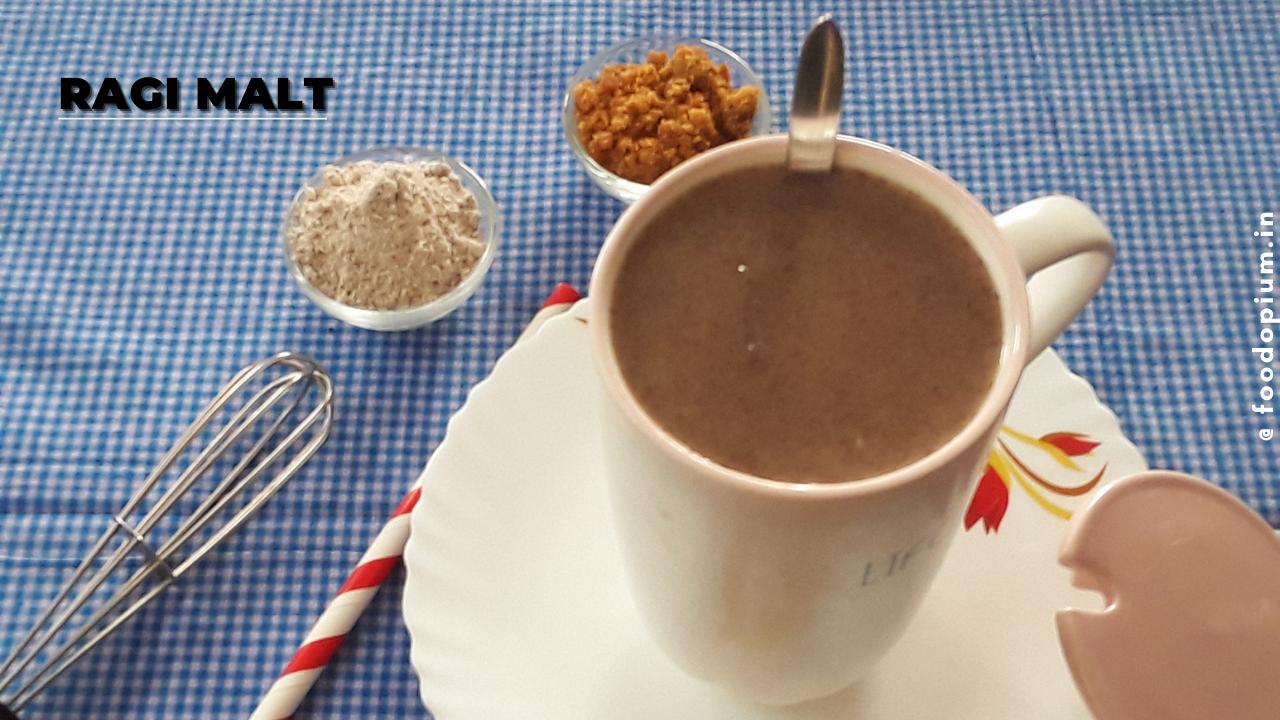 Ragi Malt   Finger Millet Porridge   Ragi Java Recipe   Weight Loss