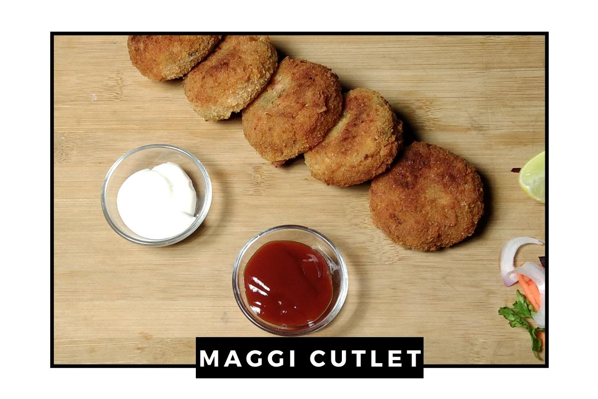 Maggi Cutlet | Maggi ke Cutlet