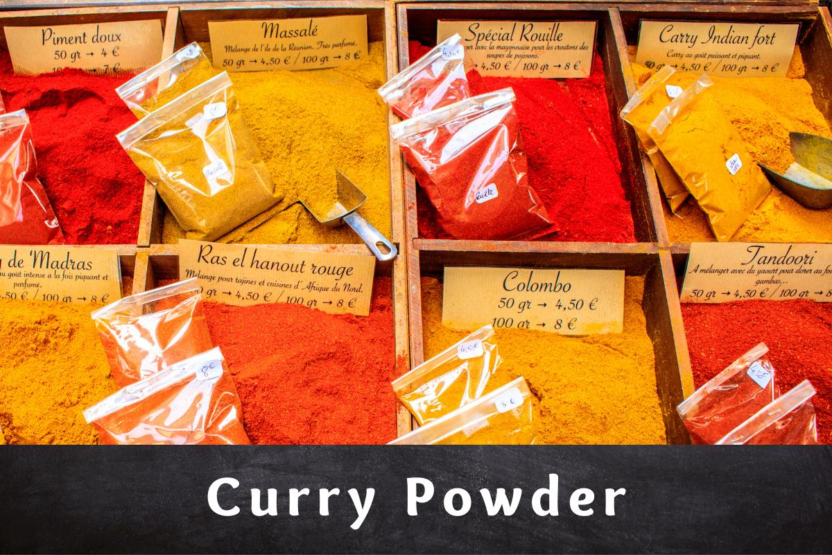Curry Powder & its Enigma