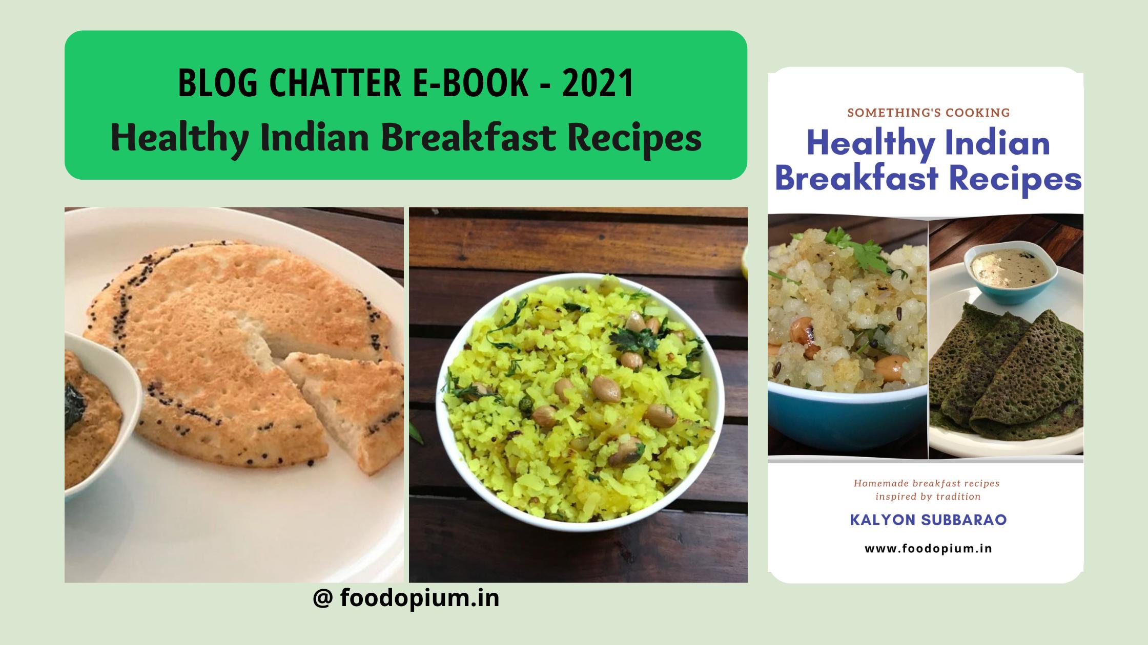Healthy Indian Breakfast Recipes – Ebook