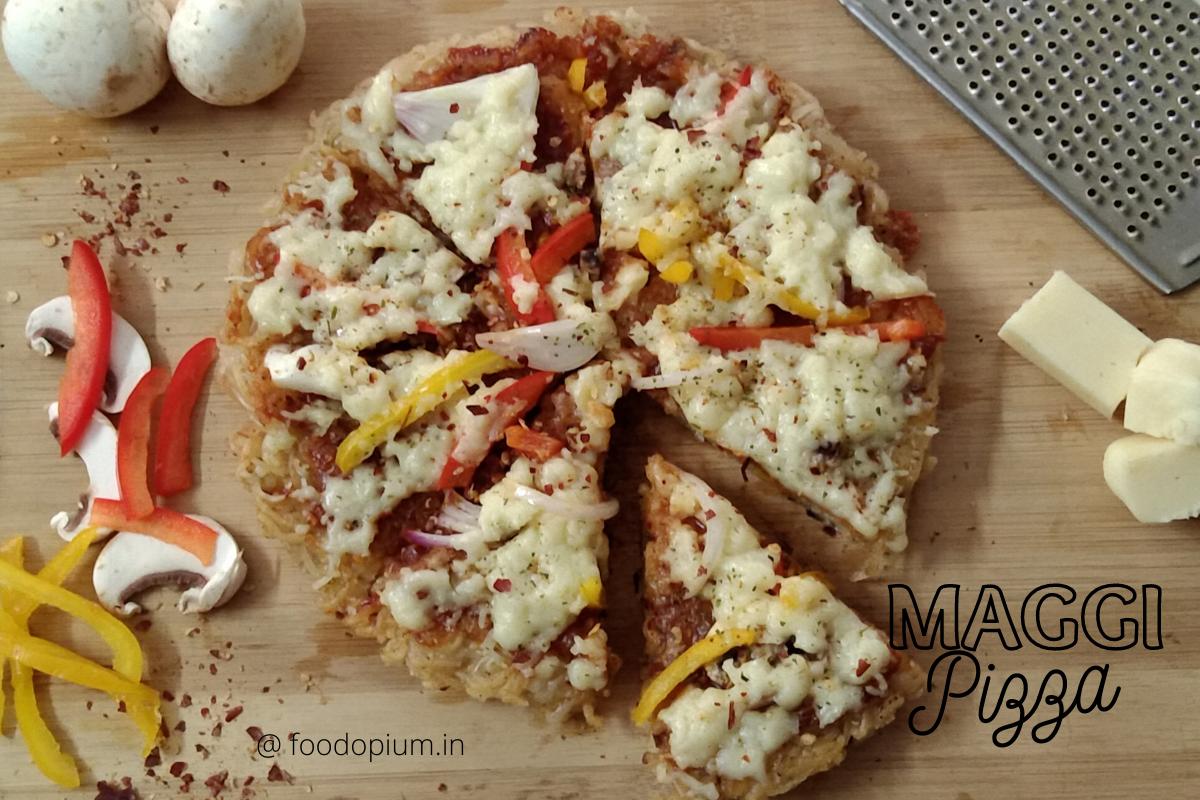 Maggi Pizza – Hungry Kya !