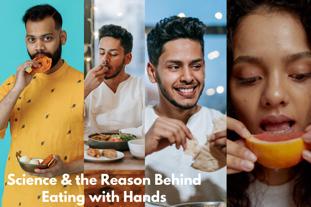 Science and the Reason Behind Eating with Hands